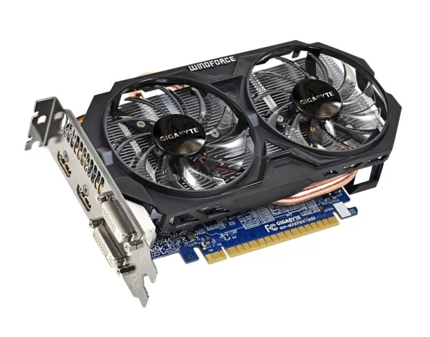 Used Gigabyte GTX 750 Ti 2 GB Graphic Card Price in Pakistan